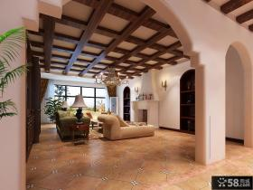 中式客厅装修效果图片