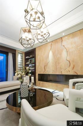 新古典别墅家居室内效果图