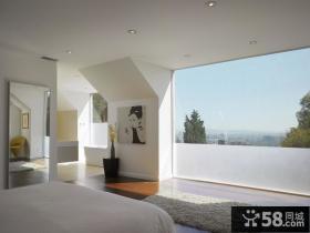 复式楼装修效果图 卧室简装修效果图
