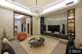 现代风格三居室家居设计效果图