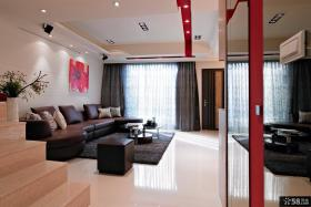 现代风格时尚家装客厅装修效果图