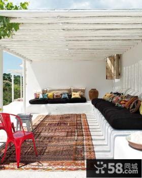 阳台设计效果图 开放式阳台装修效果图大全2013图片