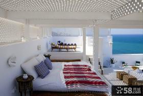 爱琴海的浪漫地中海风格装修卧室图片