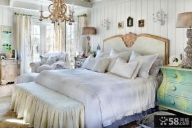 欧式卧室公主床装修效果图