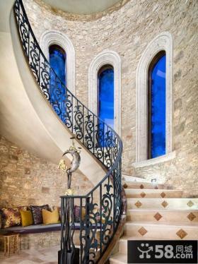 古典地中海风格楼梯装修