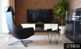 电视背景墙瓷砖效果图