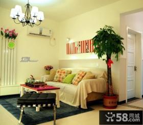 简约风格小户型客厅装修效果图2013