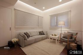 简约风格小房间装修实景图