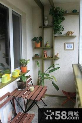 小户型家装阳台装修效果图