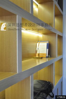 简约中式风格家庭置物架