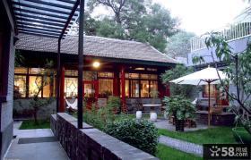 中式风格四合院别墅图片