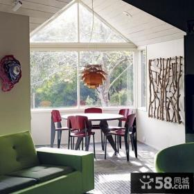 北欧风格农村别墅客厅飘窗装修效果图大全