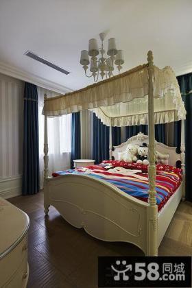 现代欧式卧室装修设计图