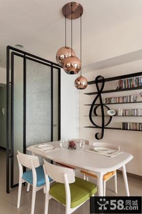 现代简约餐厅家居装饰设计图片
