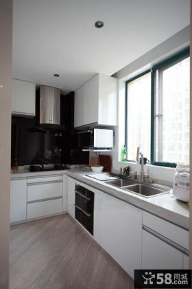现代简约风格小户型厨房海尔橱柜效果图