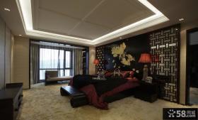 儒雅中式古典卧室布置