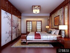 中式四居室卧室古典家具图片