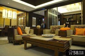 新古典中式客厅设计大全