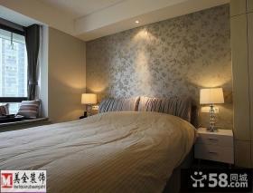 卧室床头壁纸背景墙效果图片欣赏