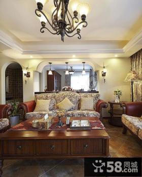 田园风光美式客厅设计