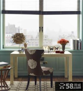 阳台改小书房装修效果图大全2013图片