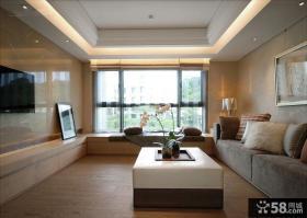 家装设计室内客厅飘窗效果图大全