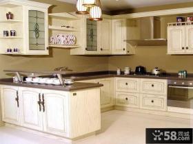 现代设计装修厨房橱柜欣赏