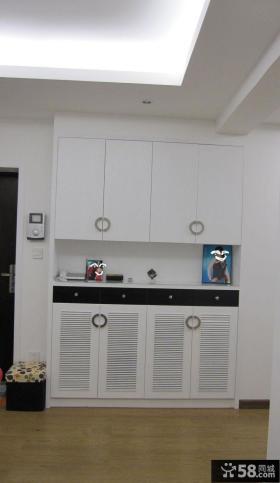 鞋柜玄关设计效果图欣赏