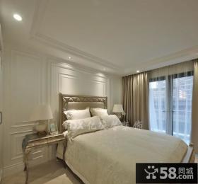 欧式风格卧室背景墙装修效果图大全