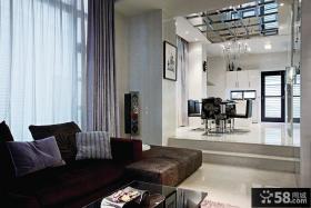 现代风格复式住宅装修效果图