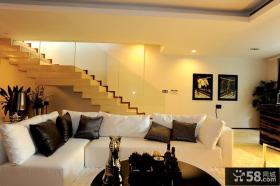 200平现代风格复式室内设计装修效果图