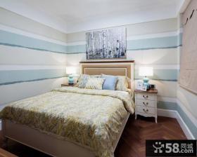简欧风格卧室装饰画图片欣赏