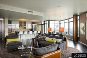 现代风格设计 现代风格厨房隔断装修效果图大全2012图片