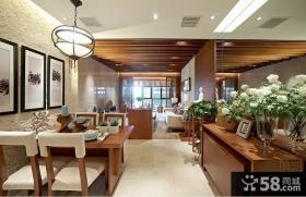 东南亚风格设计三居室装修效果图