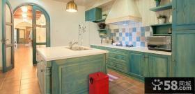 地中海风格家居厨房装修图片