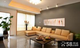 小户型客厅装修效果图片欣赏