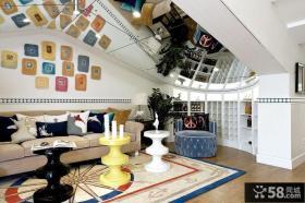 地中海家居客厅软装配饰图片