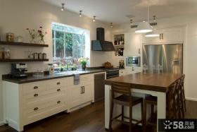 欧式厨房装饰效果图欣赏