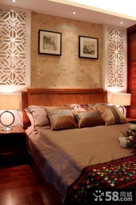 简约新中式卧室设计
