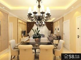 70平米简装欧式风格别墅样板房装修设计效果图