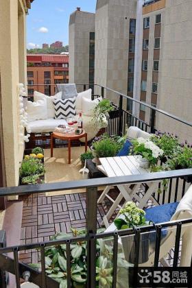 都市家居小阳台设计