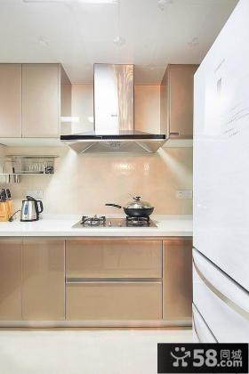 现代风格厨房橱柜设计图片2014