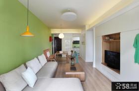 小清新现代三居装修案例