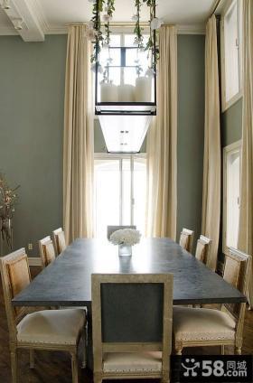 欧式浪漫单身公寓客厅装修效果图大全2012图片