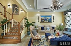 欧式现代风格设计别墅室内图片