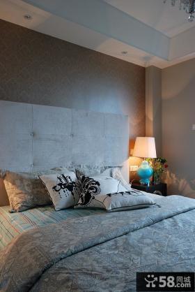 简约风格卧室装修图大全2015