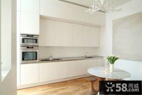 小户型简欧风格厨房装修效果图 整洁清爽