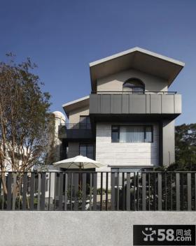 现代家装别墅房屋外观装修图片