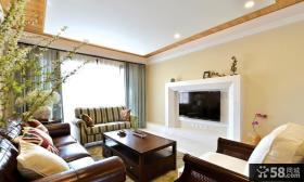 优质美式风格客厅装饰效果图