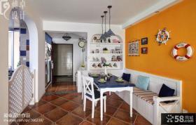 地中海小餐厅装饰效果图